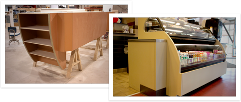 Photos of our Millwork Fabrication work