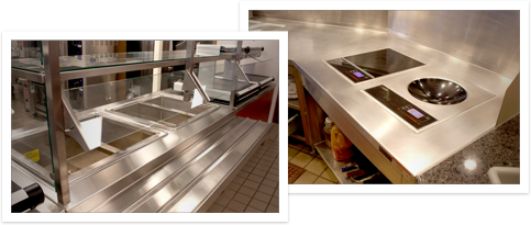 Photos of our Stainless Steel Fabrication work